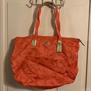 Coach Packable Tote